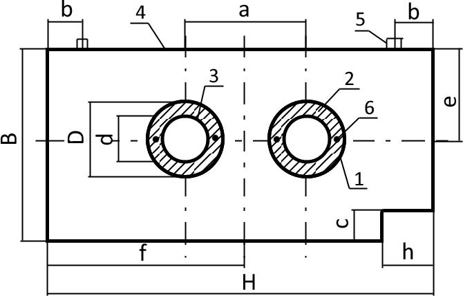 Железобетонные опоры трубопроводов неподвижные промсфера жби